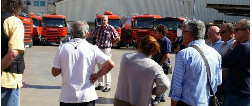 Nuevos camiones Scania, una sesión de formación