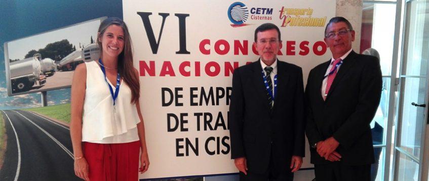 VI Congreso nacional de empresarios de transporte de mercancías en cisternas